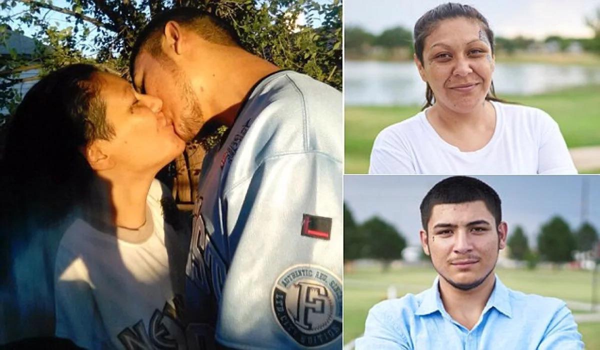Esta pareja de enamorados son madre e hijo