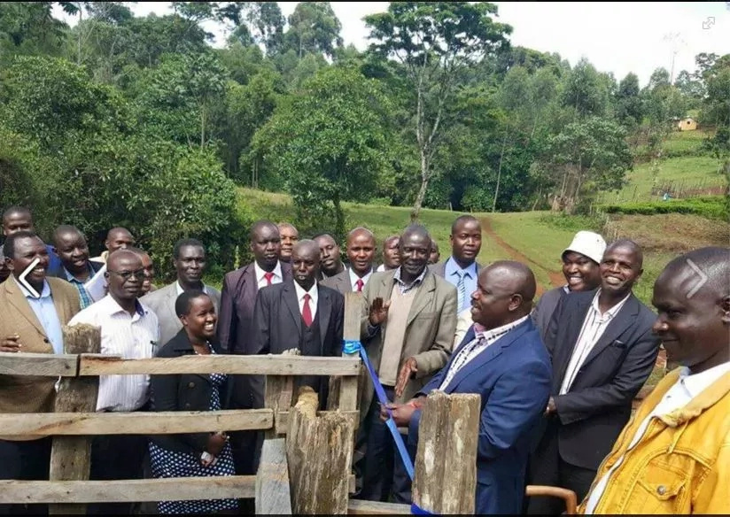 Photo : See Governor Ruto launch a KSh 5,000 project