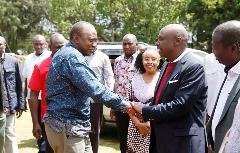 DP Ruto and Moi finally meet after months of bitter hatred and TUKO.co.ke has details (photos)