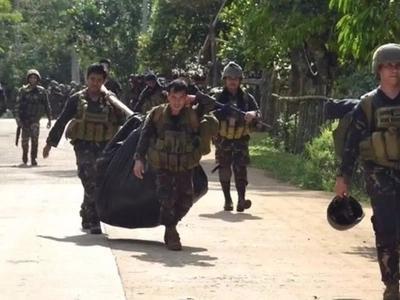 Soldiers on the losing side against Abu Sayyaf; 15-4 kill tally
