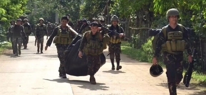 Soldiers on the losing side against Abu Sayyaf; 15-4 kill tally