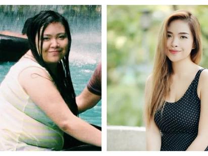 'Akala ko pangit lang talaga ako': Pinay's five-year weight loss journey inspires