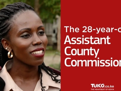 You obviously need to know this female assistant county commissioner, 28, closer right now (video)