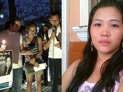Concerned citizens seek help to save poor Pinay helper on UAE death row for defending herself from employer's attack