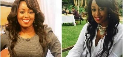 Citizen TV's Lilian Muli eats Ugali and Omena, Kenyans cannot handle
