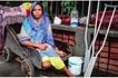 I don't like begging! Disabled street beggar, 30, who lost her leg in train accident shares her story