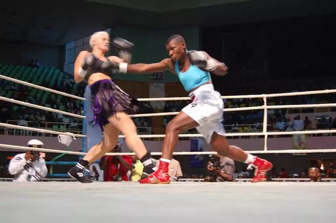 Former boxing queen Conjestina achieng' attacks and injures brother