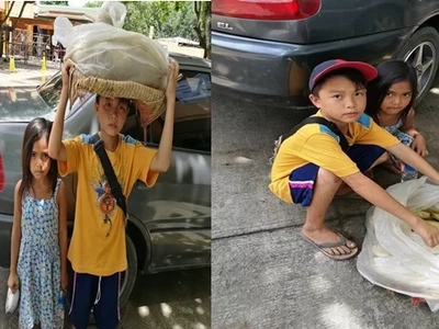 They walk 10 kilometers everyday. Find out what this siblings do to earn a living!