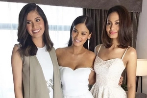Three beautiful Miss Universe alumni reunite in one photo