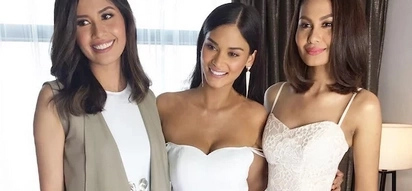 Three beautiful Miss Universe alumni reunite in one photo