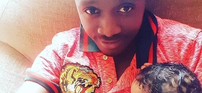 Singer Bahati exposes his new born daughter to too many visitors and his fans hate it