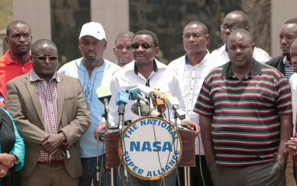 NASA leaders tear gassed as they attempt to enter CBD