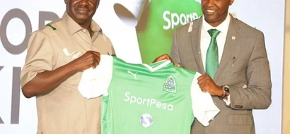 Raila asks Gor to stay focused on goals as club partners Sportpesa