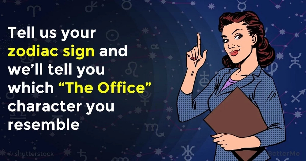"Tell us your zodiac sign and we'll tell you which ""The Office"" character you resemble"