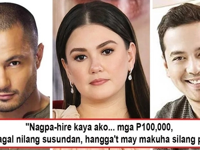 Shookt ang marami! Angelica Panganiban reveals she paid P100K to a private investigator to follow Derek and JLC when she felt they're cheating on her