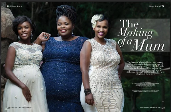 You will fall in love after seeing Awinja's photos in the new True love Magazine