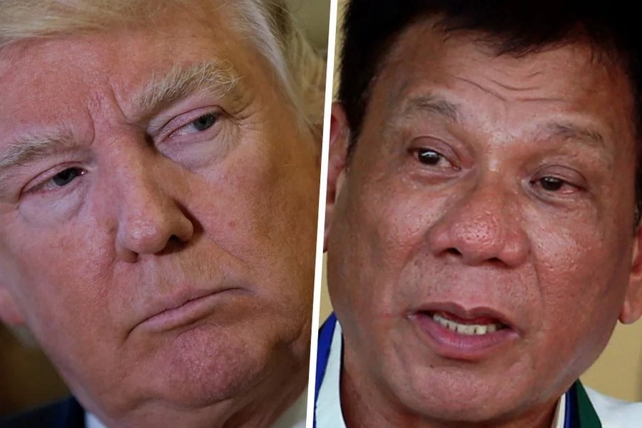 Duterte, Trump meet for the first time