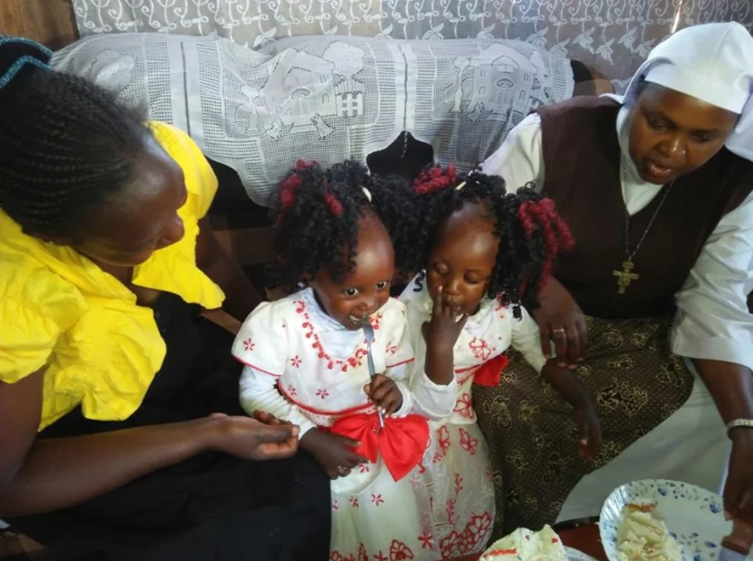 X super-lovely photos from first birthday of conjoined twins historically separated at Kenyatta Hospital