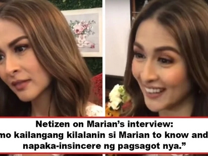 Plastik daw siya sumagot! Netizens slam Marian Rivera for allegedly being insincere in answering questions about meeting Karylle