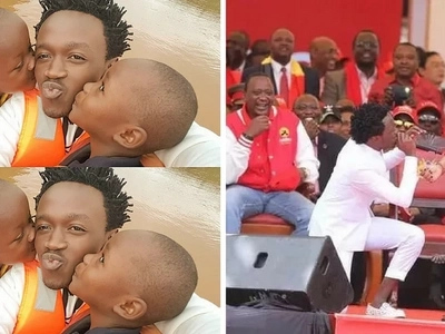 Most iconic moments in Bahati's career so far, number 5 is out of his character