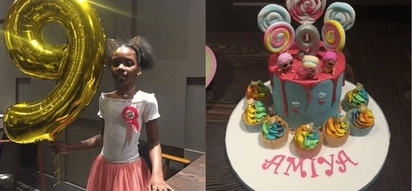 Ali Kiba's baby mama throws birthday for their 9-year-old daughter and TUKO.co.ke has the photos