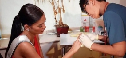 Miss U Pia Wurtzbach gets tested for HIV