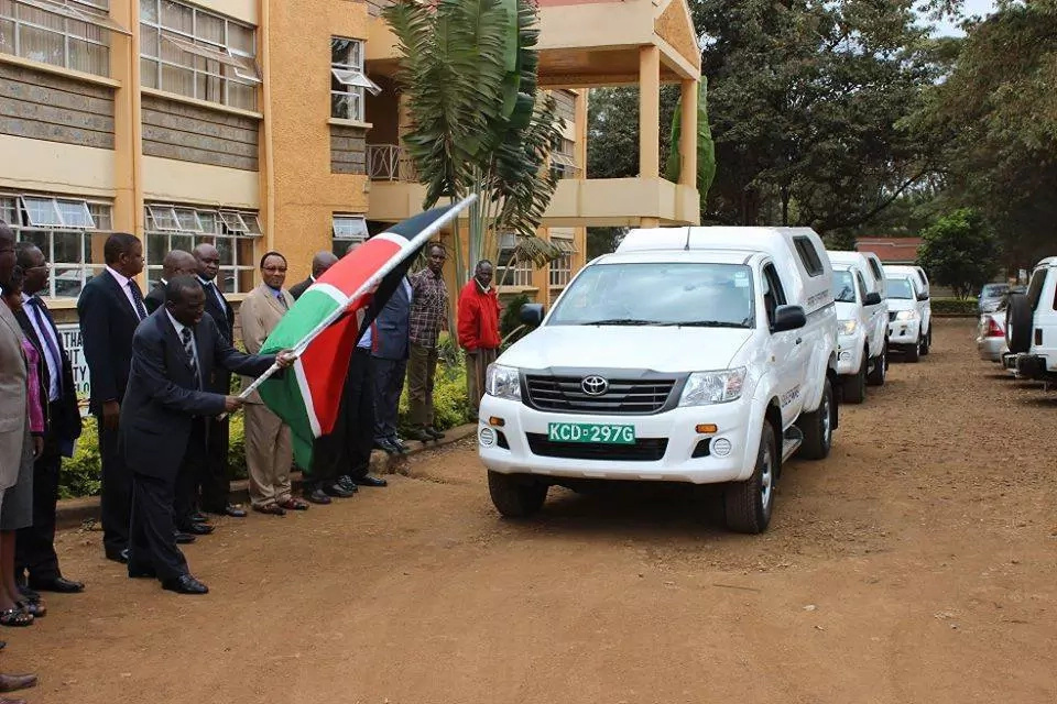 Kenyan politicians and grand launching of projects