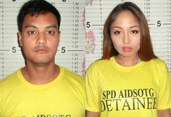Karen Bordador helped boyfriend in selling drugs said police