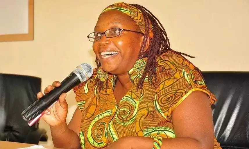Dr Nyanzi is well known for her feminist activism