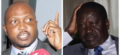 Moses Kuria afichua eneo 'atakapoapishiwa' Raila Odinga