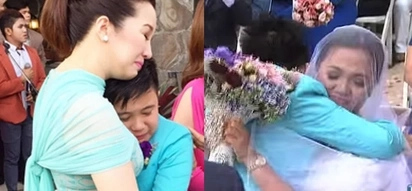 Kris Aquino touched by Bimby meeting Yaya Gerbel's daughter