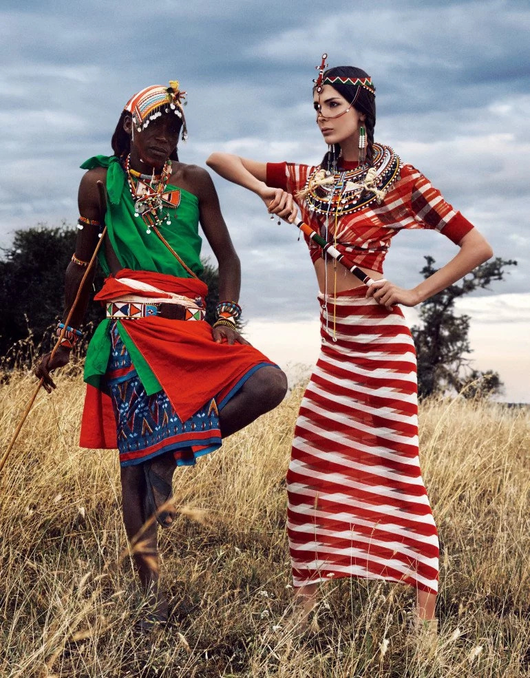 See 9 photos taken in Kenya by Vogue Japan that will make you love Kenya more