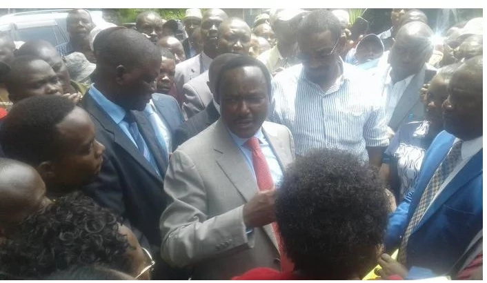 Chaos at Kalonzo office