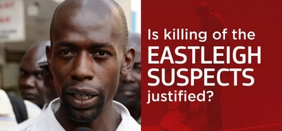 Eastleigh suspects gunned down by the police - was this justified? (video)