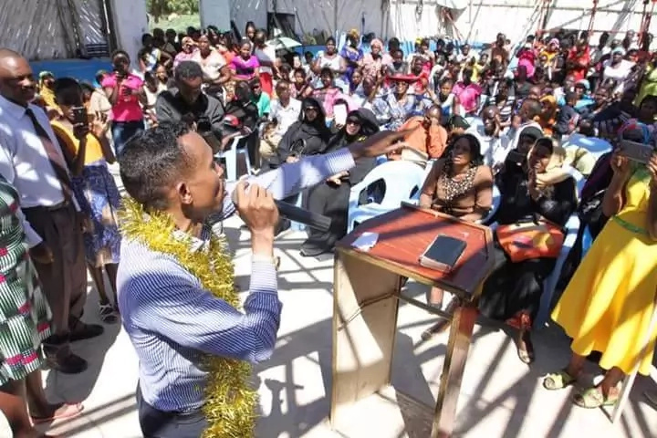 Has Moha Jicho Pevu finally joined politics? (photos)