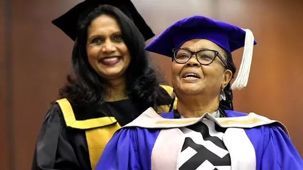 Never give up! Woman, 69, graduates with PhD after 5 years, fulfills her dream