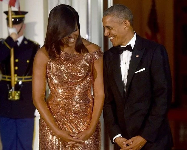 Barack and Michelle Obama's MEMOIRS whip world into frenzy as bidding reach $60million