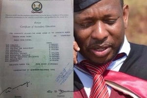 Mike Sonko reveals why he got an E grade in Mathematics