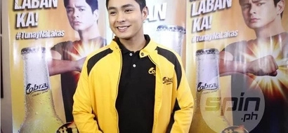 Filipino actor Coco Martin has another passion in his life: basketball
