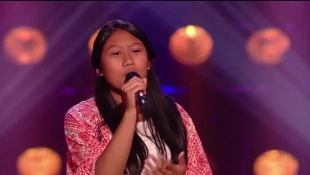 Young Filipina wows judges of 'The Voice Kids Netherlands'
