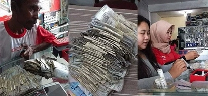Para makasabay sa uso! This street vendor uses his savings to buy his daughter this extravagant item