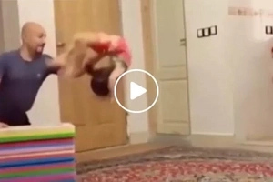 This kid's unbelievable stunts will give you a mini heart attack