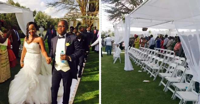 Newly married man exposed for being a fraudster after lavish wedding that shut city down (photos)