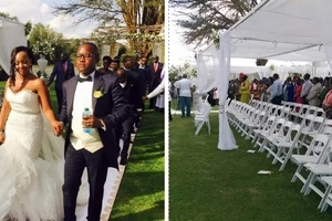 Luo man who married his Mt. Kenya wife in a lavish KSh15M wedding being hunted by police