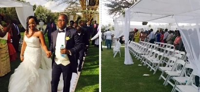 These are the people Jared Otieno, who did a multi-million wedding in Meru, allegedly conned