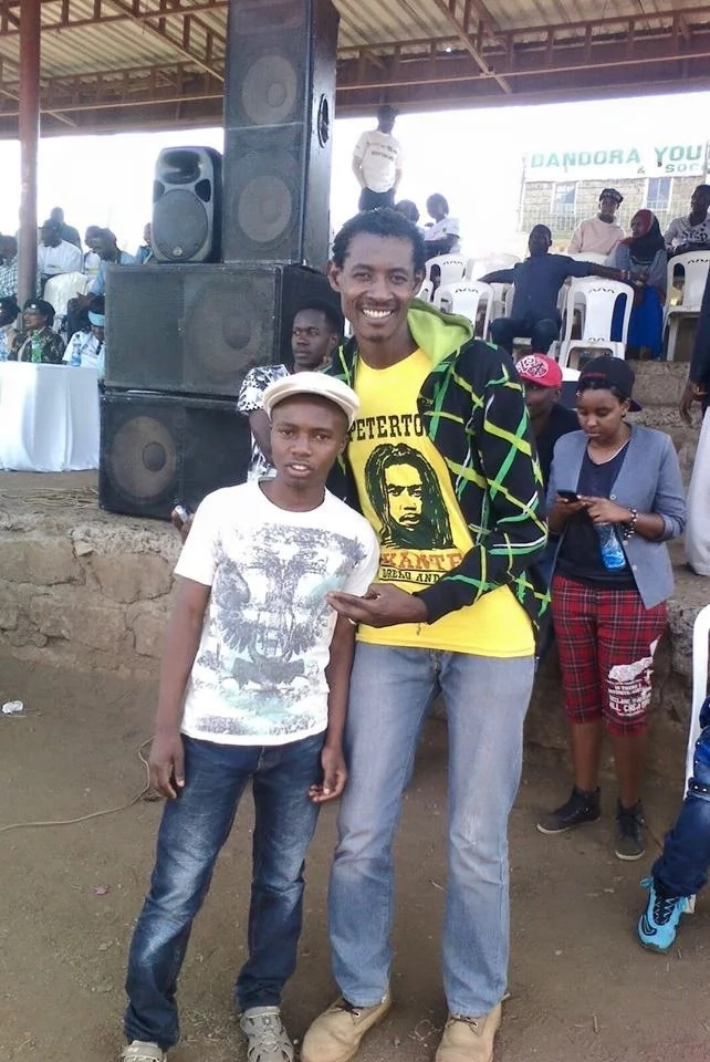 Ghetto radio presenter pleads for help after doctors say his son has only four years to live