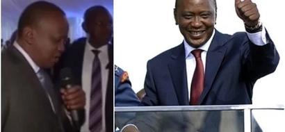President Uhuru Kenyatta 'talks to God' and Kenyans cannot hold back