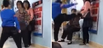 A Chinese Boy Goes Apesh*t And Kicks His Mom When She Takes His Phone Away