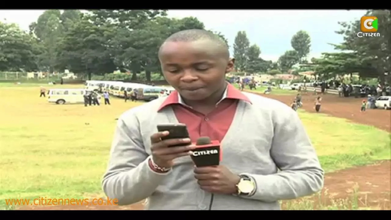 More drama for K24's reporter Job Mwaura