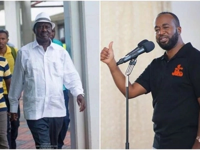 Touch Joho at your own risk - Raila Odinga